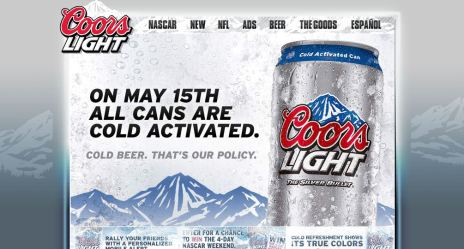Coors Light. Mayo 15
