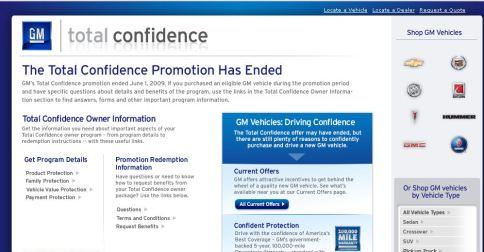 La confianza total en G M ¿ha terminado?